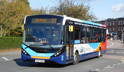 Stagecoach in Portsmouth 26163 - SN67WWH - Cosham (Highbury Buildings)