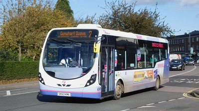 First Solent 47417 - SK63KMA - Cosham (Highbury Buildings)
