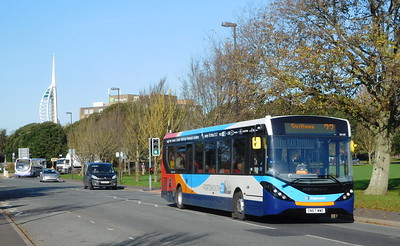 Stagecoach in Portsmouth 26160 - SN67WWE - Southsea (Duisburg Way)