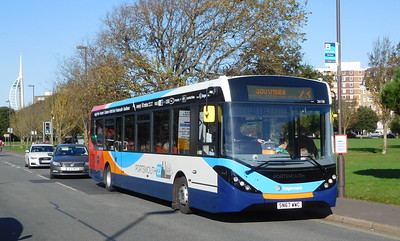 Stagecoach in Portsmouth 26158 - SN67WWC - Southsea (Duisburg Way)