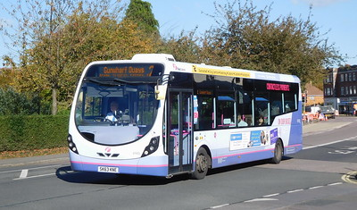 First Solent 47433 - SK63KNE - Cosham (Highbury Buildings)