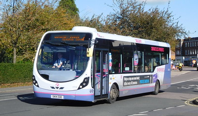 First Solent 47578 - SN14EBD - Cosham (Highbury Buildings)
