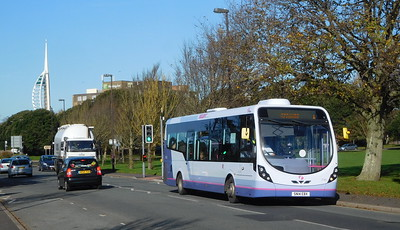 First Solent 47582 - SN14EBX - Southsea (Duisburg Way)