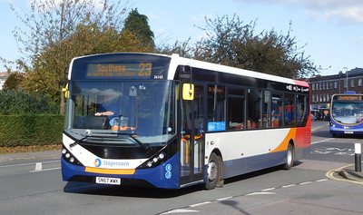 Stagecoach in Portsmouth 26165 - SN67WWK - Cosham (Highbury Buildings)