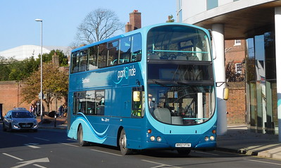 First Solent 37161 - HY07FTA - Portsmouth (Queen St)