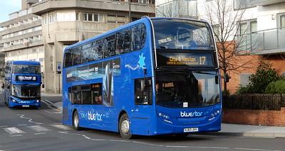 GSC BlueStar 1527 - HJ63JHV - Southampton (Blechynden Terrace)