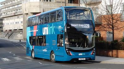 GSC BlueStar (Unilink) 1207 - HF18FEH - Southampton (Blechynden Terrace)