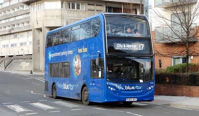 GSC BlueStar 1549 - HJ63JKY - Southampton (Blechynden Terrace)