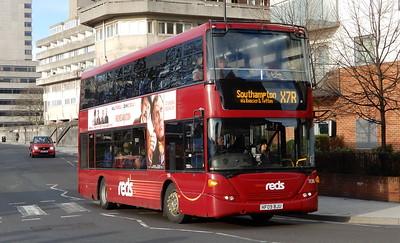 GSC Salisbury Reds 1136 - HF09BJU - Southampton (Blechynden Terrace)