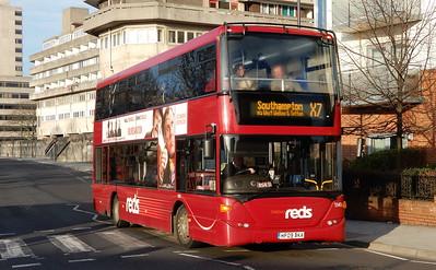 GSC Salisbury Reds 1141 - HF09BKA - Southampton (Blechynden Terrace)