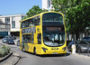 RATP Yellow Buses 124 - HF11HCX - Poole (Kingland Road) - 26.5.12