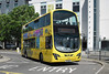 RATP Yellow Buses 121 - HF11HCP - Poole (Kingland Road) - 26.5.12