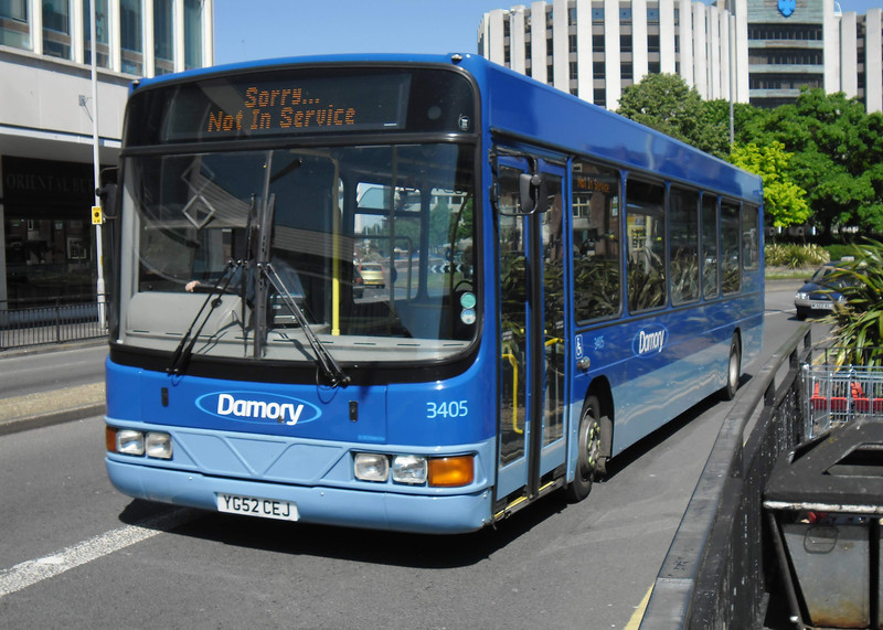 Damory 3405 - YG52CEJ - Poole (Kingland Road) - 26.5.12