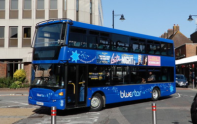 BlueStar 1112 - HW58ASZ - Eastleigh (bus station)