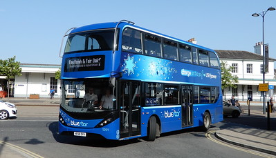 BlueStar 1251 - HF68DXV - Eastleigh (Station Hill)