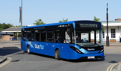 BlueStar 2743 - HF65CXT - Eastleigh (Station Hill)