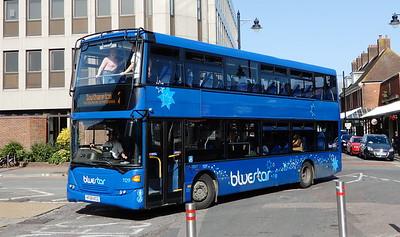 BlueStar 1129 - HF58KCG - Eastleigh (bus station)