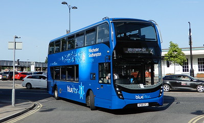BlueStar 1638 - HF66CFJ - Eastleigh (Station Hill)