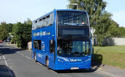 BlueStar 1567 - HJ63JNZ - Fair Oak (Fair Oak Road)