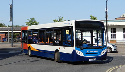 Stagecoach in Hampshire 36024 - GX07HUK - Eastleigh (Station Hill)