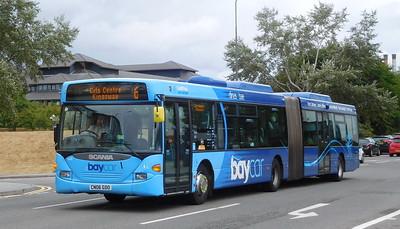 Cardiff Bus 603 - CN06GDO - Cardiff (Hemingway Road)