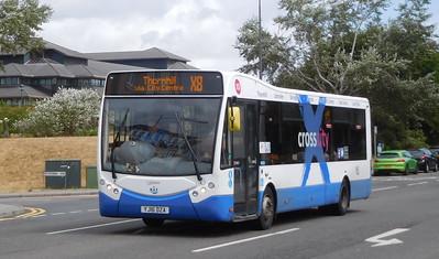 New Adventure Travel 530 - YJ16DZA - Cardiff (Hemingway Road)