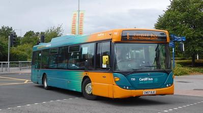 Cardiff Bus 730 - CN57BJO - Cardiff (Hemingway Road)