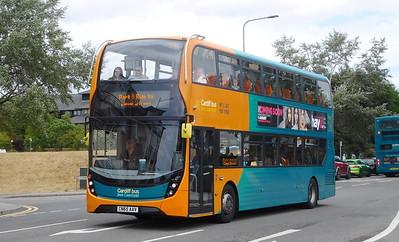 Cardiff Bus 307 - CN65AAV - Cardiff (Hemingway Road)