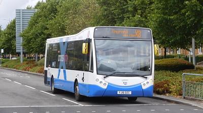 New Adventure Travel 532 - YJ16DZC - Cardiff (Lloyd George Avenue)