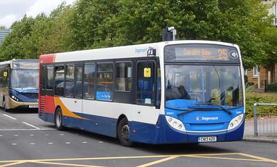 Stagecoach South Wales 36841 - CN13AZO - Cardiff (Lloyd George Avenue)