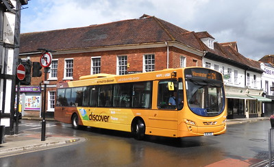 First West of England 69503 - BJ10VGE - Salisbury (Brown St)