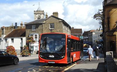 GSC Salisbury Reds 2725 - HF65AYD - Salisbury (Fisherton St)