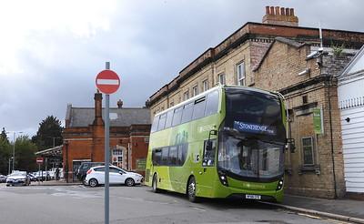 GSC Salisbury Reds 1636 - HF66CFE - Salisbury (railway station)
