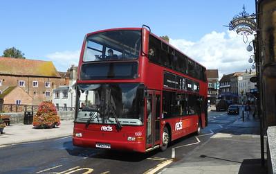 GSC Salisbury Reds 1993 - HW52EPN - Salisbury (Fisherton St)