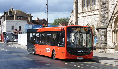 GSC Salisbury Reds 2702 - YX64VOC - Salisbury (Fisherton St)