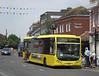 RATP Yellow Buses 101 - YJ10MDE - Christchurch (high street)