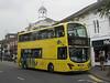 RATP Yellow Buses 124 - HF11HCX - Christchurch (high street)