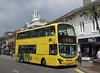 RATP Yellow Buses 121 - HF11HCP - Christchurch (high street)
