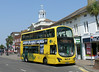 RATP Yellow Buses 121 - HF11HCP - Christchurch (High St) - 24.7.14