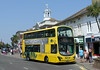 RATP Yellow Buses 124 - HF11HCX - Christchurch (High St) - 24.7.14
