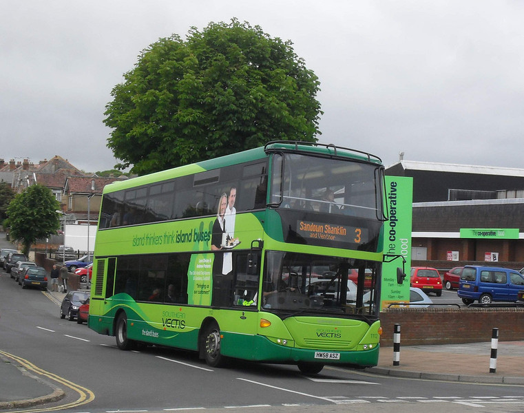Southern Vectis 1112 - HW58ASZ - Shanklin (Collingwood Rd)