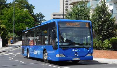 BlueStar 2413 - HF55JZN - Southampton (Central railway station)