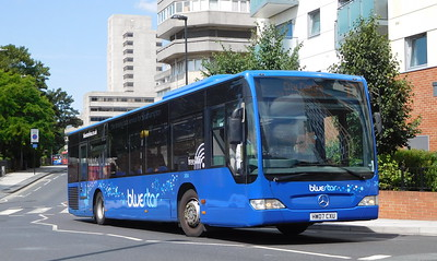 BlueStar 2454 - HW07CXU - Southampton (Central railway station)