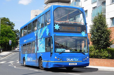 BlueStar 1808 - HX51ZRK - Southampton (Central railway station)