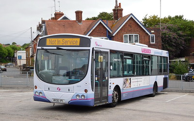 First Wessex 69210 - MX06VPL - Yeovil (bus station)