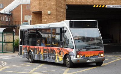 Nippy Bus YJ56AUK - Yeovil (bus station)