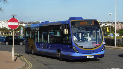 First Solent 63049 - SK63KJA - Southsea (Clarence Pier)