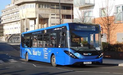 BlueStar 2746 - HF65CXW - Southampton (Central railway station)