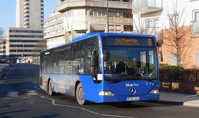 BlueStar 2409 - HF55JZJ - Southampton (Central railway station)