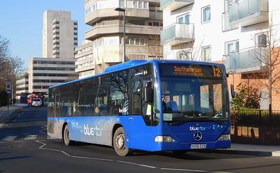 BlueStar 2435 - HX06EZD - Southampton (Central railway station)